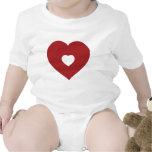 Corazón/amor Traje De Bebé
