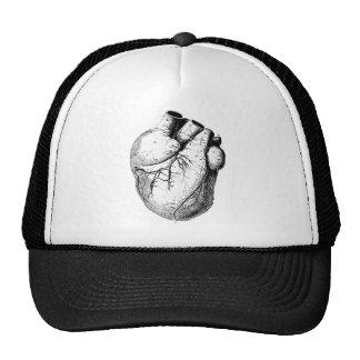 Corazón anatómico correcto gorro de camionero
