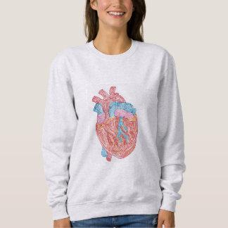 Corazón anatómico playeras