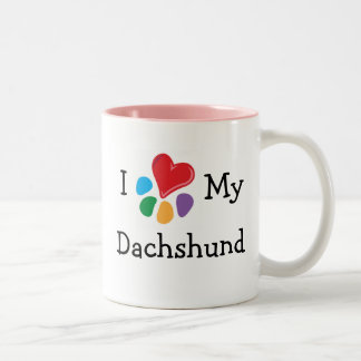 Corazón animal de Lover_I mi Dachshund Taza
