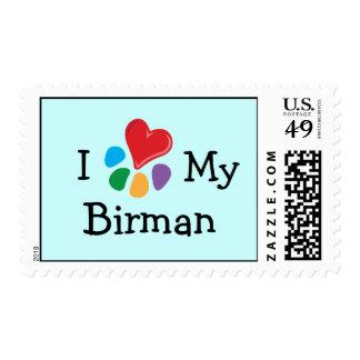 Corazón animal de Lover_I mi franqueo de Birman