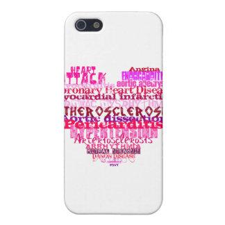 Corazón anti del el día de San Valentín iPhone 5 Protector