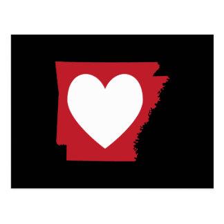 Corazón Arkansas Postales