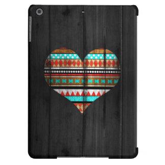 Corazón azteca funda para iPad air