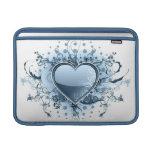 """Corazón azul 13"""" de Emo manga de MacBook Funda Para Macbook Air"""