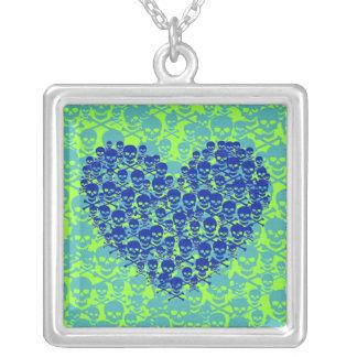 Corazón azul de Skully Joyerias Personalizadas