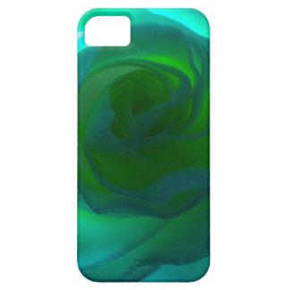 Corazón azul subió iPhone 5 fundas