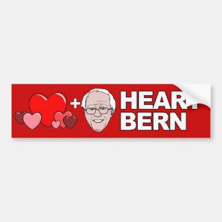 Corazón Berna - chorreadoras de Bernie - .png Pegatina Para Auto
