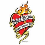 Corazón bífido del tatuaje de Spina Esculturas Fotograficas