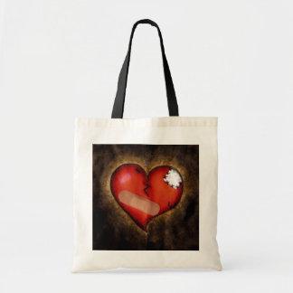 Corazón-bolso del corazón quebrado de la reparació bolsa