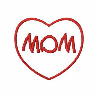 Corazón bordado de la mamá
