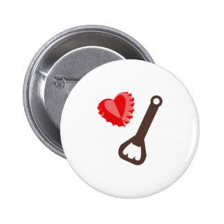 Corazón Bottlecap Pin
