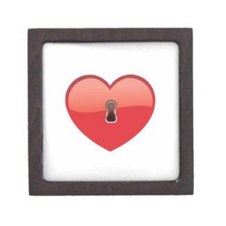 Corazón Caja De Recuerdo De Calidad