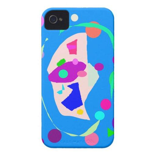 Corazón caliente de la experiencia del aprecio iPhone 4 Case-Mate protector