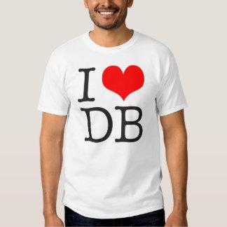 (Corazón) camiseta ligera del DB I Playera