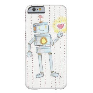 Corazón caprichoso Robot iPhone6 de la empatía Funda Barely There iPhone 6