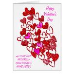 ¡Corazón Card=MAKE de las tarjetas del día de San