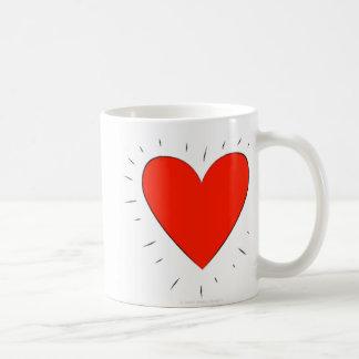 Corazón cariñoso - taza