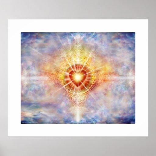 Corazón celestial póster