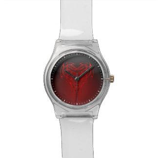 Corazón céltico reloj
