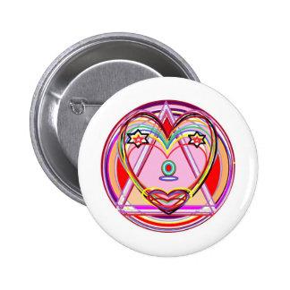 Corazón Chakra - presentación artística de NOVINO Pin