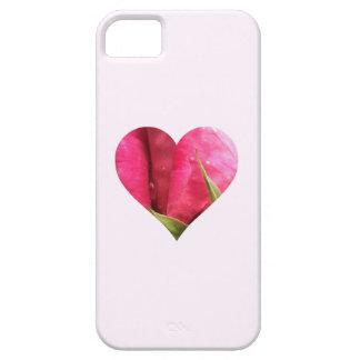 Corazón color de rosa funda para iPhone SE/5/5s