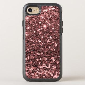 Corazón color de rosa Otterbox del brillo del rosa Funda OtterBox Symmetry Para iPhone 7