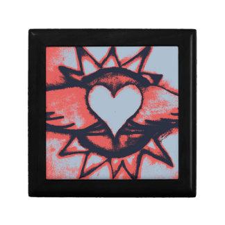 Corazón con alas cajas de regalo
