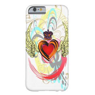 Corazón con alas con el caso del iPhone 6 de la Funda De iPhone 6 Slim