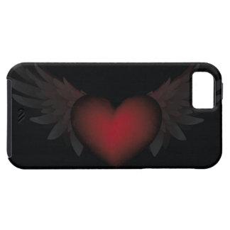 Corazón con alas iPhone 5 Case-Mate carcasas