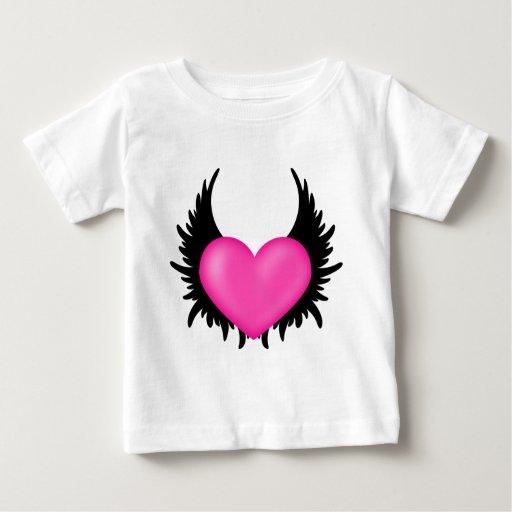 Corazón con alas playeras