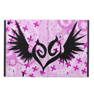 Corazón con alas punk