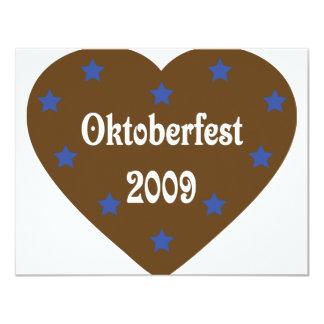 Corazón con el icono de Oktoberfest Anuncios Personalizados
