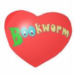 Corazón con el ratón de biblioteca esculturas fotograficas