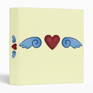 """Corazón con las alas carpeta 1"""""""