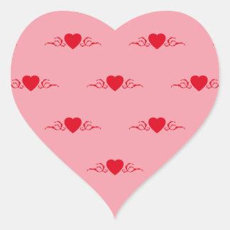 Corazón con modelo floralem