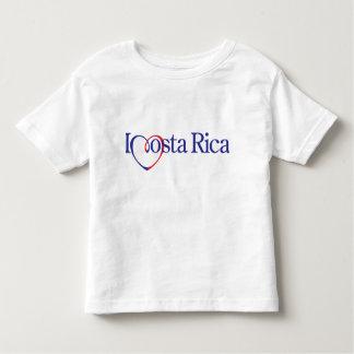 Corazón Costa Rica Remera