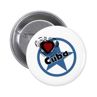 Corazón Cuba Pin