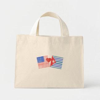 Corazón cubano mini tote bag