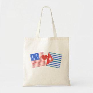 Corazón cubano tote bag