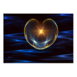 Corazón curativo tarjetas de visita