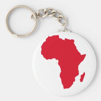 Corazón de África Llavero Redondo Tipo Pin