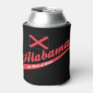 Corazón de Alabama de Dixie Enfriador De Latas