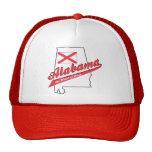 ¡Corazón de Alabama de Dixie! Gorras De Camionero