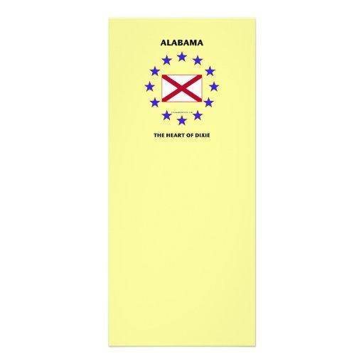 Corazón de Alabama de Dixie Plantillas De Lonas
