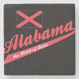 Corazón de Alabama de Dixie Posavasos De Piedra