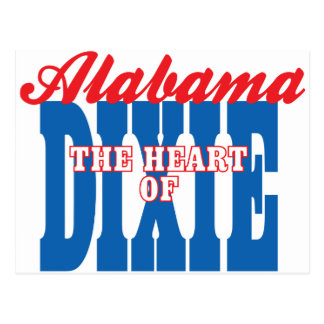 Corazón de Alabama de Dixie Postal