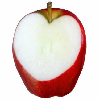 Corazón de Apple Fotoescultura Vertical