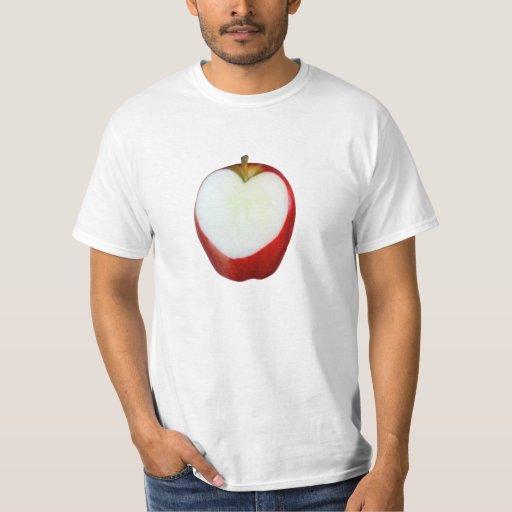 Corazón de Apple Remeras