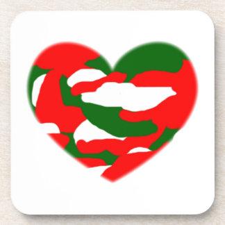 Corazón de Camo del navidad de Italia Posavaso